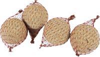 Pindakaasbollen 4 stuks