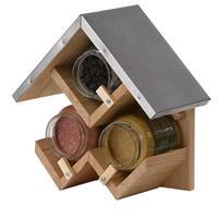 esschertdesign Esschert Design triple pindakaashuisje