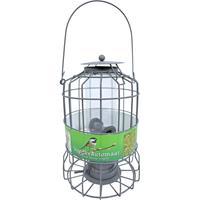 Voederautomaat voor kleine vogels grijs