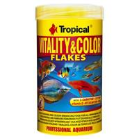 Tropical 1l  Vitality & Color Flakes Fischfutter