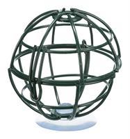 TRIXIE mezenbolhouder voor raam metaal donkergroen