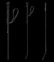 Rijzweep - Rijzweep - Zwart - 90 cm