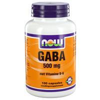 NOW GABA Capsules