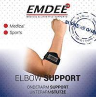 Emdee Band Tennis Golf Arm Zwart