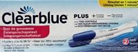 Zwangerschapstest Clear Blue (2 st)
