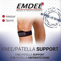 Emdee Supportband Knie Of Patella Zwart