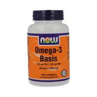 NOW Omega-3 Basis 180 mg EPA 120 mg DHA Softgels 100st