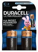 Batterij Duracell c ultra power mx1400 alkaline