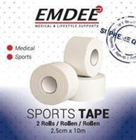 Emdee Sporttape Duo White