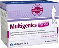Metagenics Multigenics Femina Zakjes