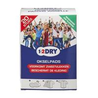 1-2DRY 1-2 Dry Okselpads Large Wit