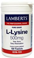 Lamberts L-lysine 500 mg 120 tabletten