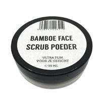 Bamboe FACE Scrub Poeder (50 ml)
