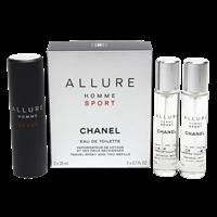 Chanel Allure Homme Sport CHANEL - Allure Homme Sport Eau de Toilette Navulbare Reisverstuiver - 3 ST