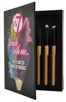 W7 Make-up Brushes - Brush With Me Set