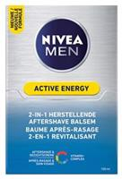 Nivea Men Active Energy 2in1 Aftershave Balsem