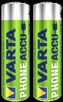 Varta Phone HR06 Oplaadbare AA batterij (penlite) NiMH 1600 mAh 1.2 V 2 stuk(s)
