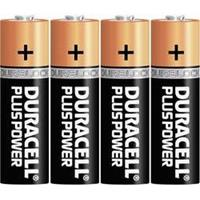 Duracelll Plus Power LR06 AA batterij (penlite) Alkaline 1.5 V 4 stuk(s)