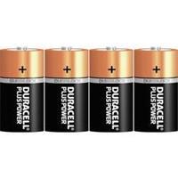 C batterij (baby) Duracelll Plus LR14 Alkaline 1.5 V 4 stuk(s)