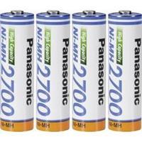 Panasonic Panasonic AA Oplaadbare AA batterij (penlite) NiMH 2700 mAh 1.2 V 4 stuk(s)