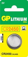CR2450 Knoopcel Lithium 3 V 600 mAh GP Batteries CR2450 1 stuk(s)