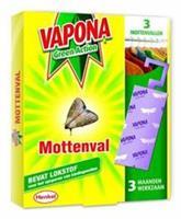 Vapona Vapona Mottenval - 3 Stuks