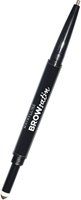 Maybelline New York 01 Dark Blond Brow Satin Duo Wenkbrauwpotlood 0.71 ml