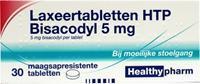 Healthypharm Bisacodyl 5mg Laxeertabletten