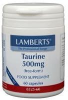 Lamberts Taurine 500 mg 60 vcaps