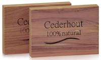 Beautylin Anti-Mot Cederhouten Ladeblok 2st