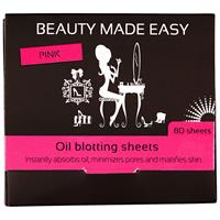 Beauty Made Easy Oil Blotting Sheets Pink