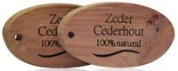 Beautylin Anti-Mot Cederhouten Blok Ovaal