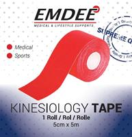 Emdee Kinesiology Tape Rood Non Cut