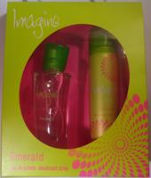 Huismerk Geschenkset Imagine Emerald- Eau de Toilette 50 ml + Deodorant 75 ml