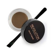 Makeup Revolution Brow Pomade Medium Brown - Donkerblond en middenbruin haar.