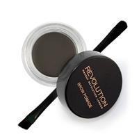 Makeup Revolution Brow Pomade Graphite - Zwart haar.
