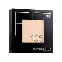 Maybelline Fit Me Matte and Poreless Powder 105 Natural Ivory - Lichte huid, neutrale ondertoon.