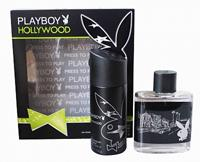 Playboy Hollywood Geschenkset Eau de Toilette 100ml Deo 150ml