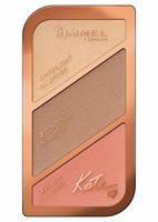 Rimmel Kate Sculpting Kit : 002 - Medium - Bronzingpoeder En Blush (Ex)