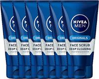 niveamen Nivea Men Deep Cleaning Face Scrub Voordeelverpakking