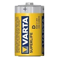 Batterij Varta Superlife Mono 2er