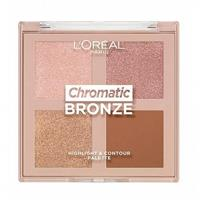 Loreal L'Oreal Highlighter Chromatic Palette 01