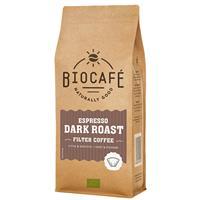Bio Cafe Filterkoffie Espresso Dark Roast