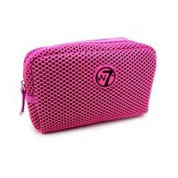 W7 Make-up/Toilettas - Medium Mesh Bag Fuchsia