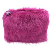 W7 Fluffy/Furry Make-up Tasje - Purple