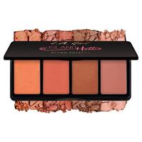 LA Girl Fanatic Blush Palette Island Hottie