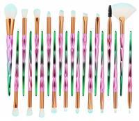 Huismerk Make-Up Kwasten Set 20 Stuks - Groen