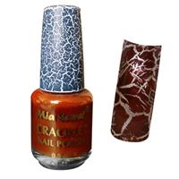 Mia Secret Crackle Nagellak Brown