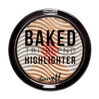 Barry M Tri-Blend Baked Highlighter Silver Solstice