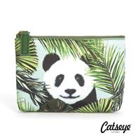 Catseye London Panda in Palms Pouch